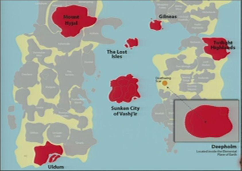 world of warcraft map of azeroth. World+of+warcraft+map+